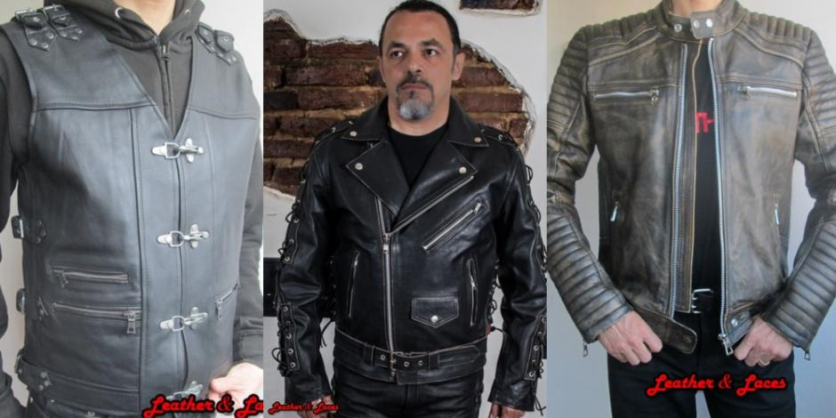 Motor Leather Geci si Veste Barbati