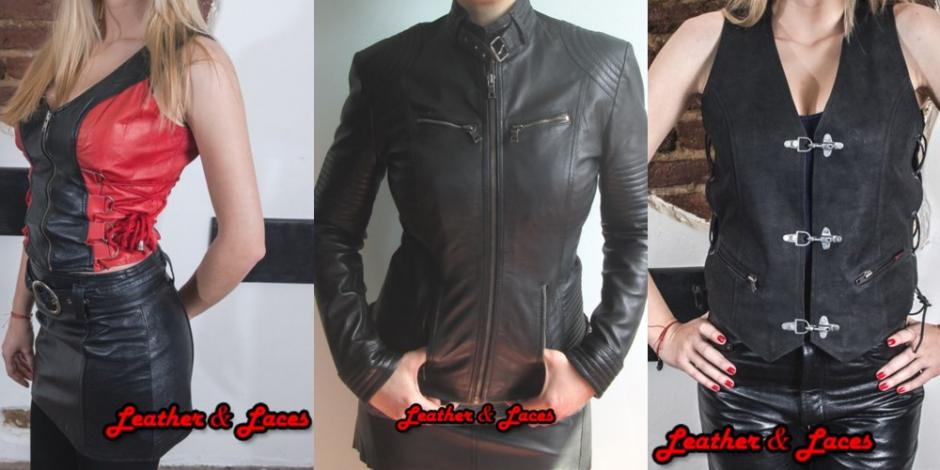 Motor Leather Geci si Veste Fete
